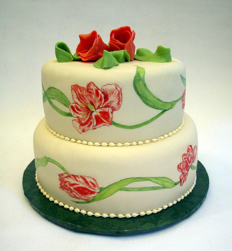 Картины на торте