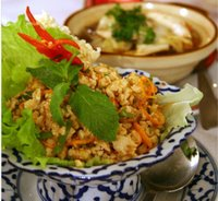 spicy thai chichken salad