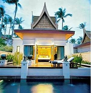 Samui peninsula hotels spa resort