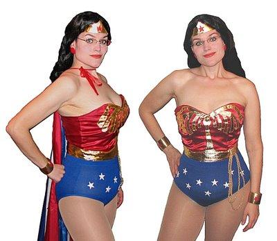 Jess as Wonder Woman Halloween 2006