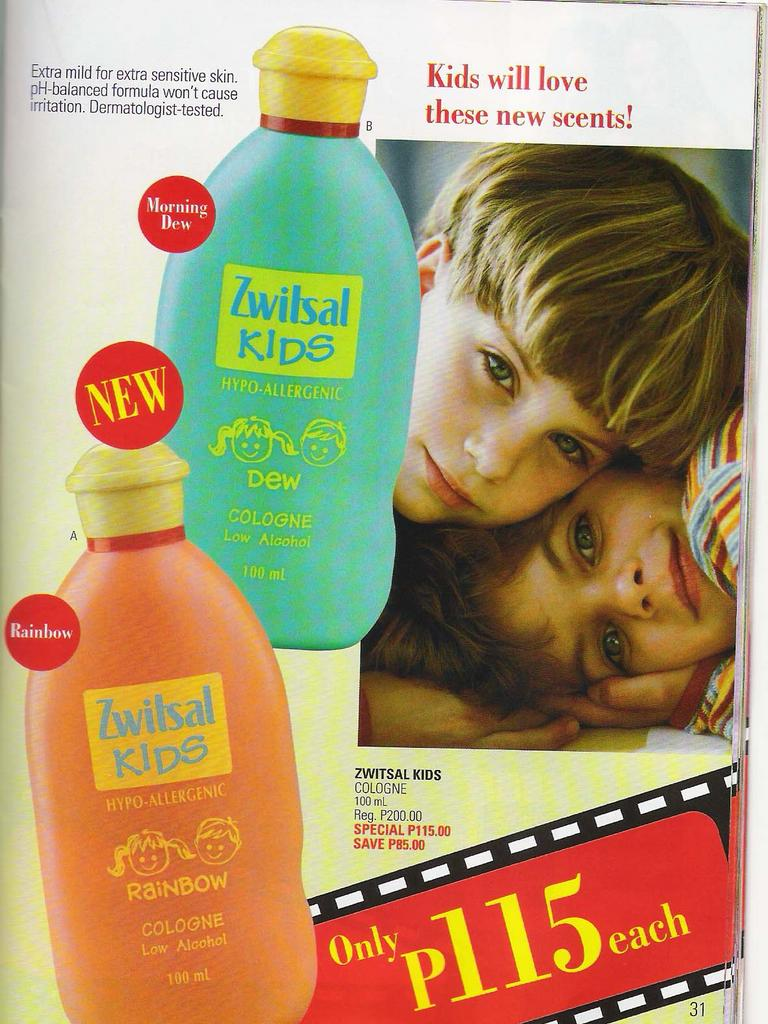 Welcome To Saralee Direct Selling August 2005 Zwitsal Cologne Classic Fresh Floral 100ml New Fragrance For Kids Dew And Rainbow