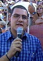 Mario Juárez en acción
