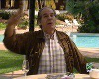 Fotograma de la entrevista de Tendido Cero con Rafael de Paula en La 2 de TVE el 14/01/2006