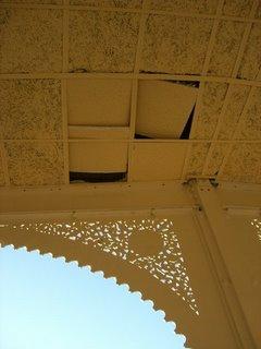 Falso techo de la Andanada 7