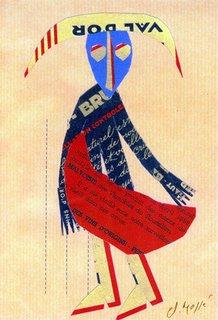 Presumible cartel de la feria Céret de Toros '2006. Claude Massé