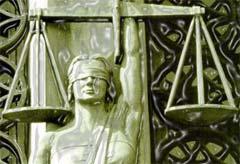 La clásica imagen idealizada de la justicia
