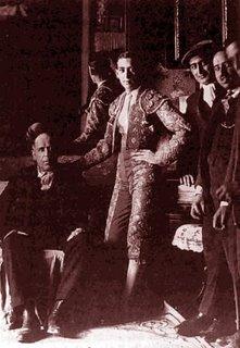 Marcial Lalanda con su padre