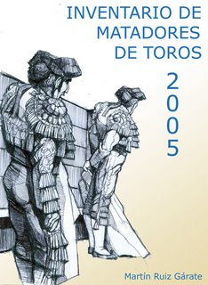 Portada del Inventario de Matadores de Toros 2005, por Facundo