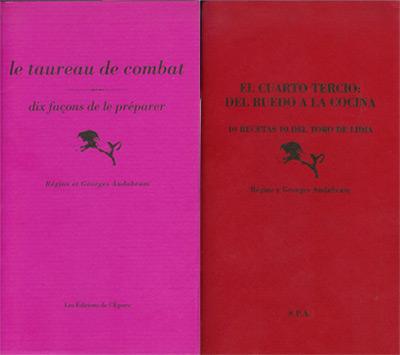 La cubierta de los dos libritos