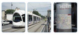 Tram in Lyon