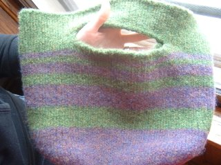 Another Felted Bag