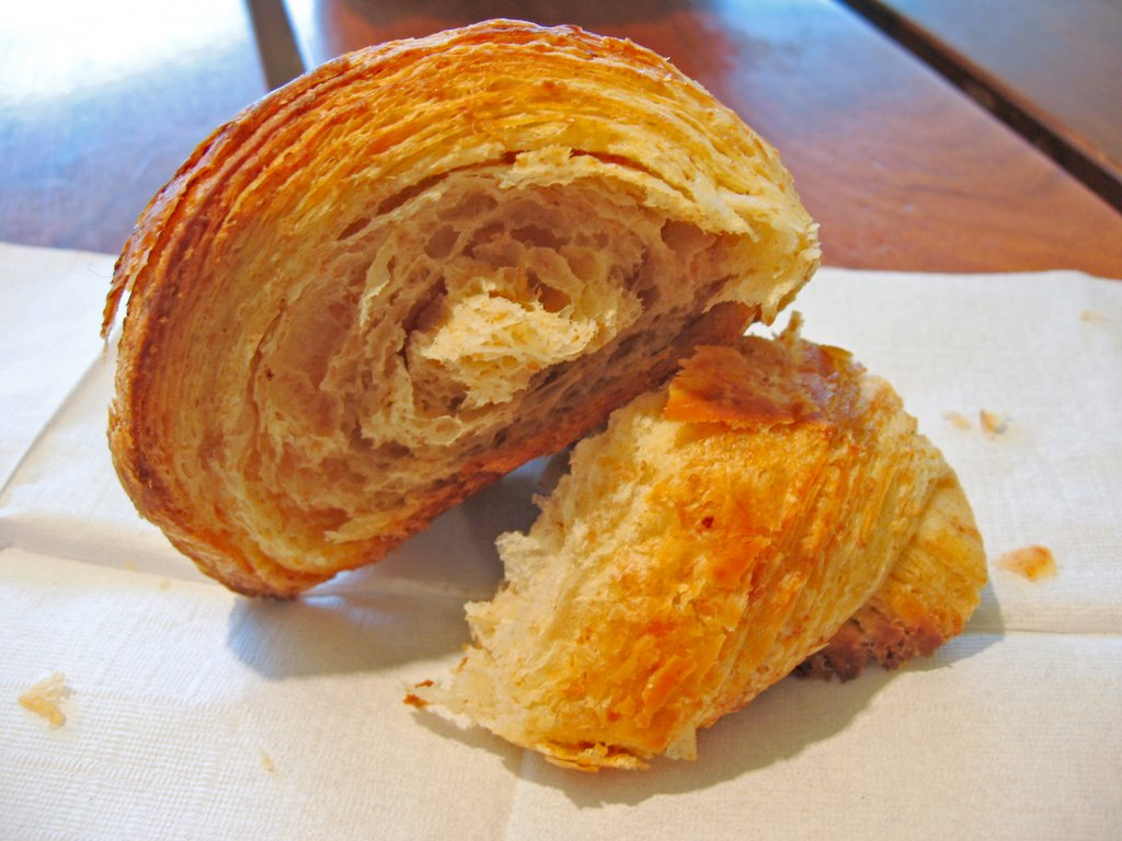 ... wheat croissants I've eaten in a long time. Rating: 3.2 out of 4