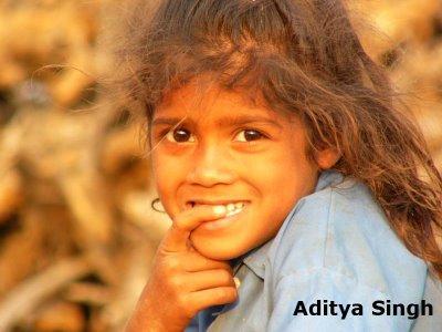 Mogiya child