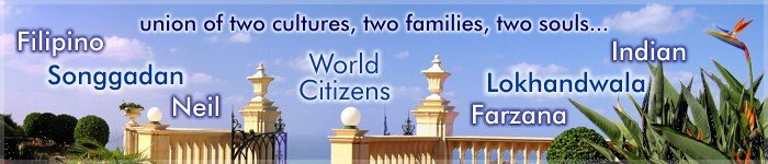 Union of two cultures, two families, two souls...
