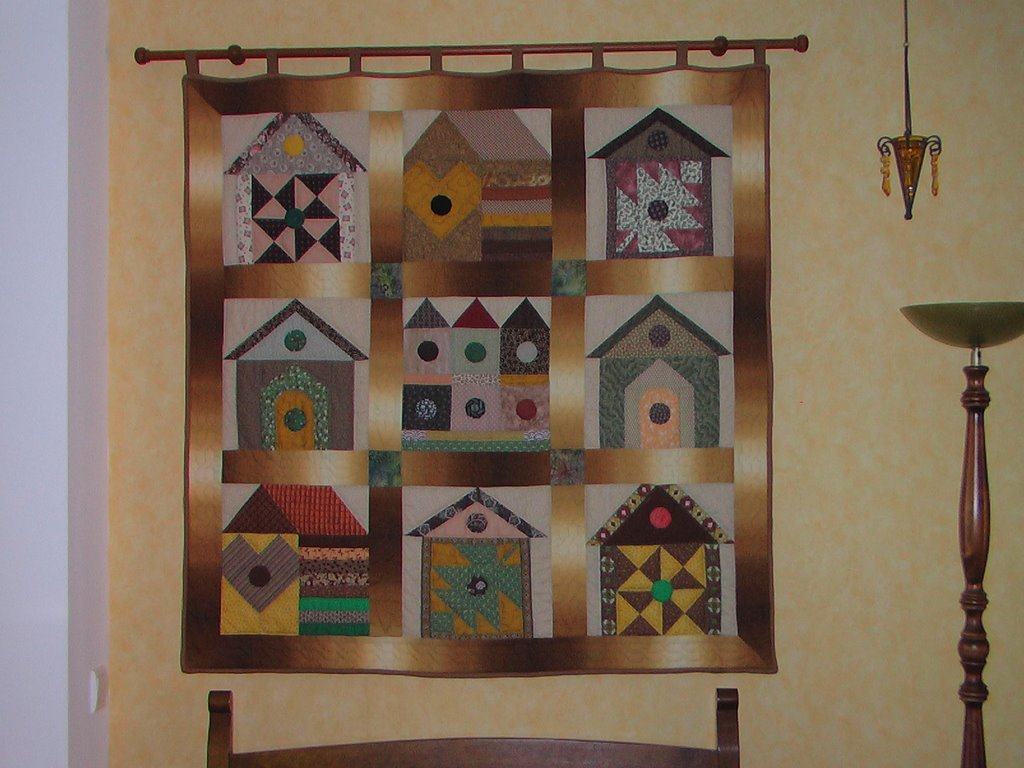 pigeonnieresplendy tenture murale. Black Bedroom Furniture Sets. Home Design Ideas