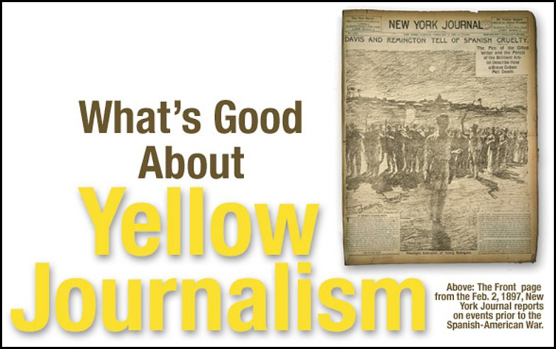Yellow journalism la prensa sensacionalista
