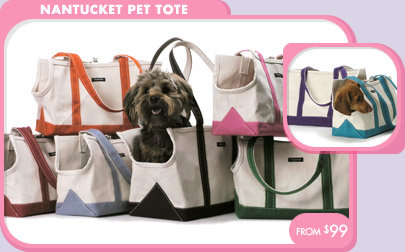 Pet Carriers Travel Nantucket Tote