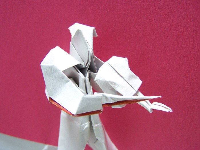 This Is Violinist By Robert Lang From The Complete Book Of Origami Step Instructions In Over 1000 Diagrams 1988