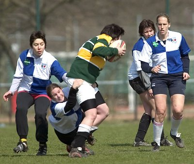 me playing rugby