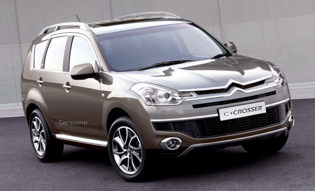 2007 citroen c crosser suv ou la la a mitsubishi outlander crossdresser. Black Bedroom Furniture Sets. Home Design Ideas