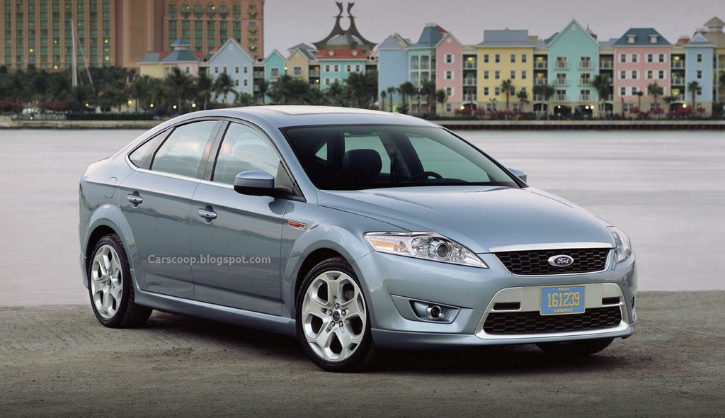 2007 ford mondeo new set of pictures carscoops. Black Bedroom Furniture Sets. Home Design Ideas