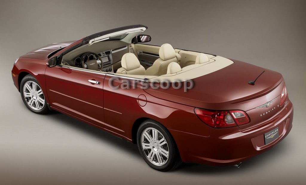 la show exclusive chrysler sebring coupe cabrio. Black Bedroom Furniture Sets. Home Design Ideas