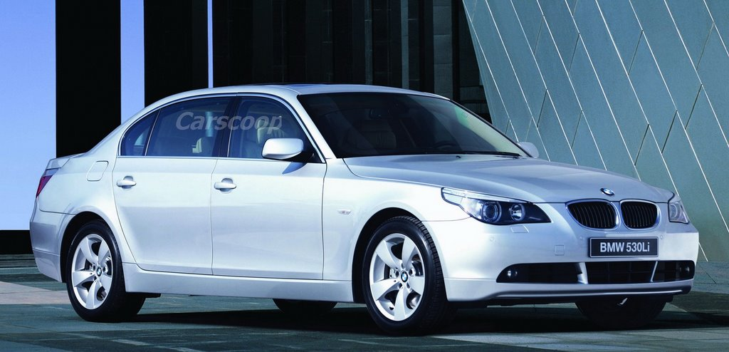 Carscoop Bmw Introduces Long Wheel Base 5 Series In China 523li