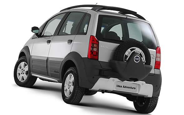 Fiat Goes Crossover  2007 Idea Adventure