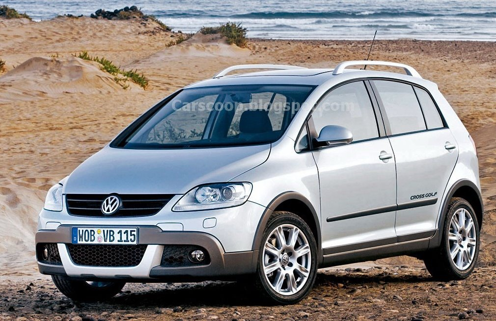 2007 volkswagen golf plus cross carscoops
