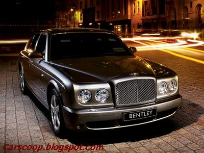 2007 Bentley Arnage: More power & new 6speed auto