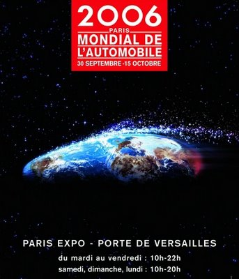 Paris International Motor Show - Complete List With Picture & Press Release Links