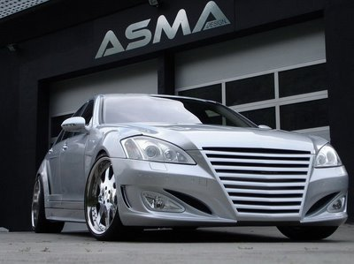 Darth Vader-Mobile: The Mercedes S-Class based, ASMA Eagle 1