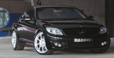 BRABUS Tunes the 2007 Mercedes CL Coupe - Top end SV12 S Biturbo with 730 Hp !