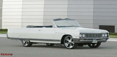 Carscoop%20Buick%20Electra%201.0 2006 SEMA Show 1964 Buick Electra 225 Convertible with a 620Hp V8 Photos