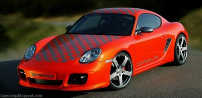 Rinspeed Imola based on the Porsche Cayman & Rinspeed Indy 4S optical package for the 911 Carrera 4