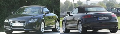 Scooped : 2007 Audi TT Roadster