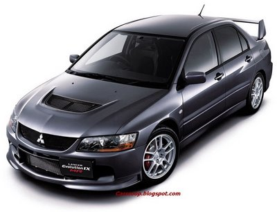 Final Fantasy: Mitsubishi launches the last EVO IX editions, the Lancer EVO IX MR and Lancer EVO Wagon MR
