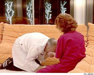 George Galloway haciendo de gato
