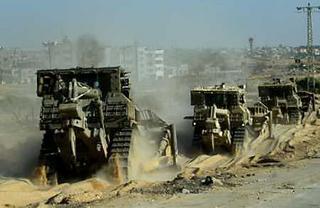 Topadoras israelíes