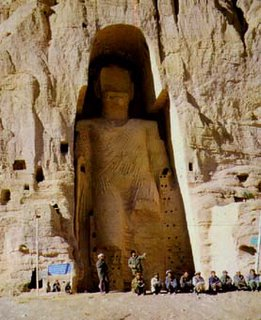 Bamyan Buddhas destroyed by the Taliban