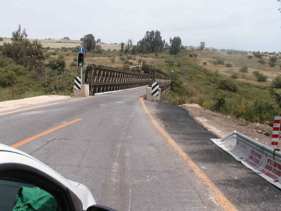 Bnot Yaakov Bridge - Golan