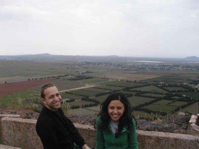 Golan - Syrian border