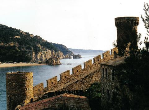 Muralla. Tossa de Mar, 1999