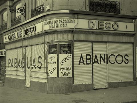 'Casa de Diego', en la Puerta del Sol. Madrid, 2006