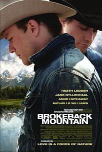 Cartel de 'Brokeback Mountain'. Imagen: UIP