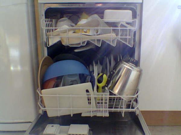 Cómo poner un lavavajillas