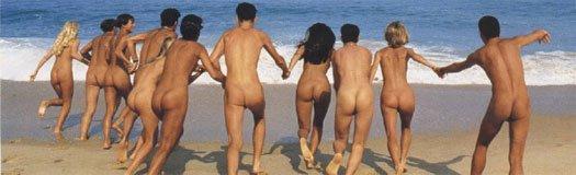 Nudismo en grupo. Imagen: Club Català de Naturisme