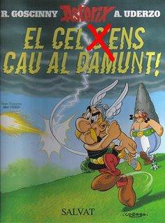 Errata en la portada del último 'Astérix'