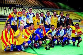 Selección Catalana de Hockey. Imagen: 'El Mundo Deportivo'