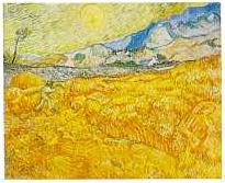 Vincent Van Gogh. 'Le moissonneur'